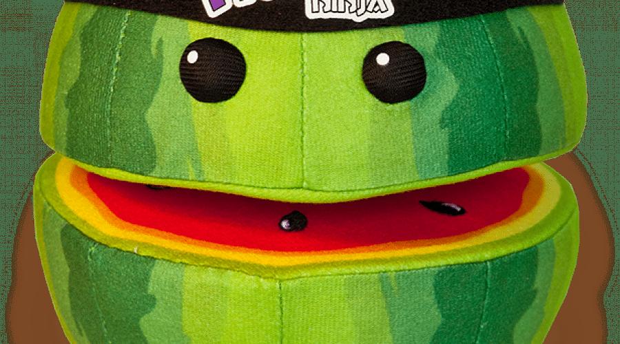 Cadou de Crăciun: Jucării de pluş Fruit Ninja