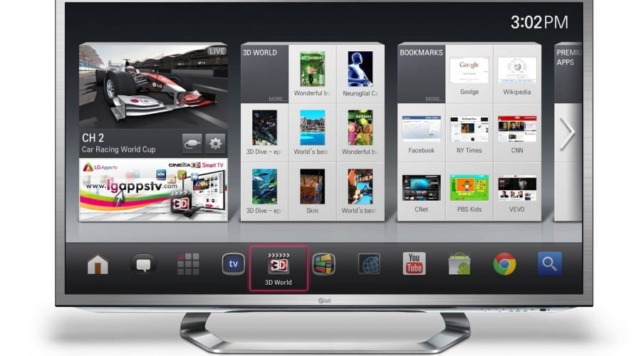 CES 2012: LG prezintă Google TV