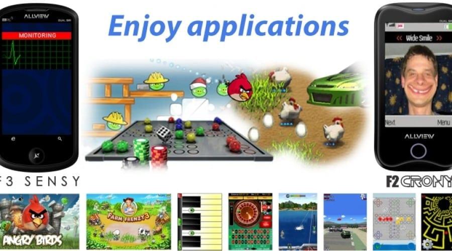 Top 10 aplicatii Java pentru telefoanele Allview
