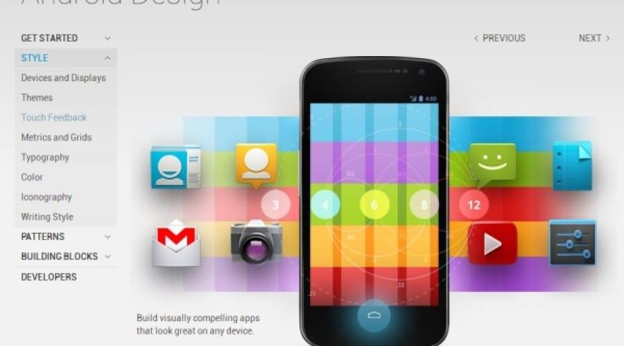 Lecţii de stil pentru dezvoltatorii Android