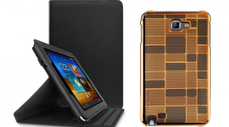 Samsung Galaxy Note, Nexus şi Tab se bucură de noi accesorii de la Belkin