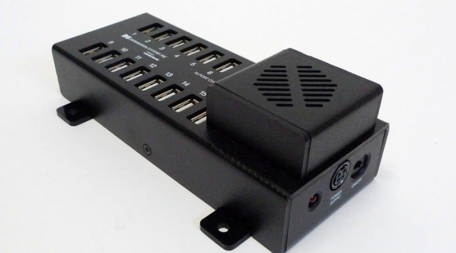 Încărcător USB cu 16 porturi