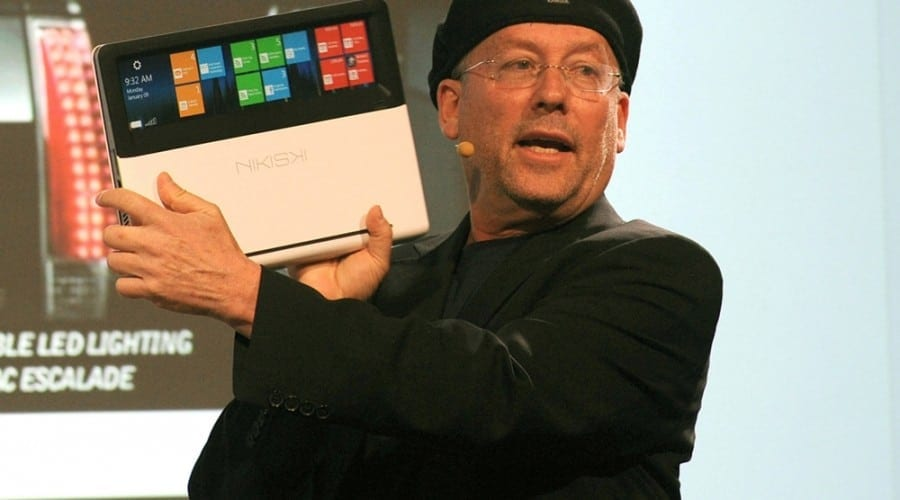 Intel Nikiski, un laptop prototip cu trackpad transparent