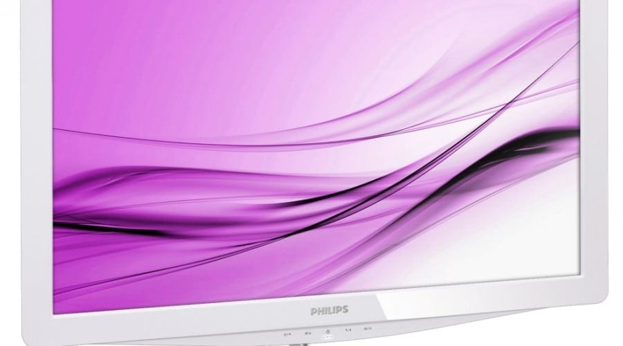Philips Moda 248C3LHSW, acum în variantă albă
