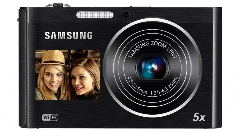 Samsung DV300F: Wi-Fi și ecran frontal