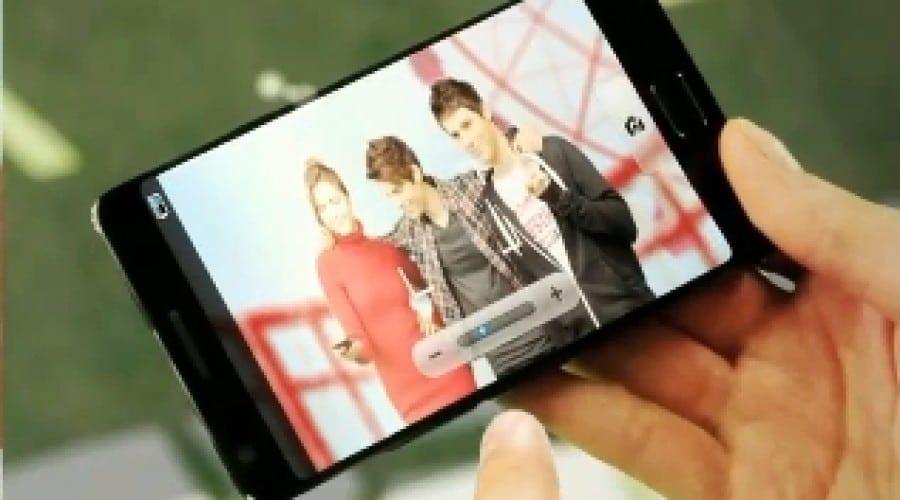 Samsung Galaxy S III surprins într-un video la CES?