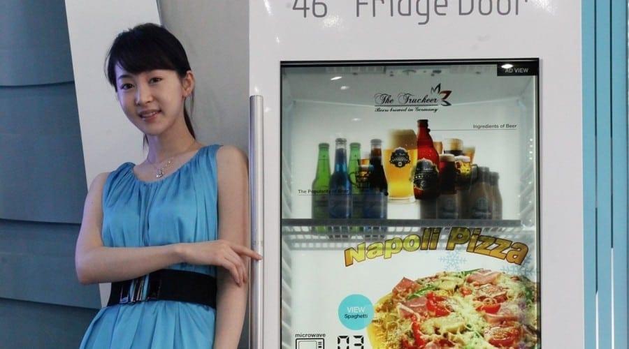 Noul ecran LCD transparent al Samsung intră în producţie