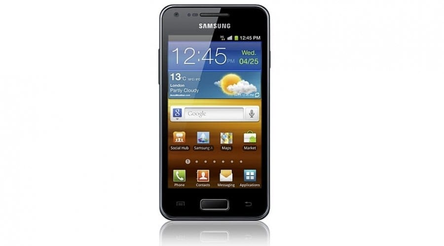 Samsung Galaxy S Advance: Procesor dual-core şi ecran Super AMOLED