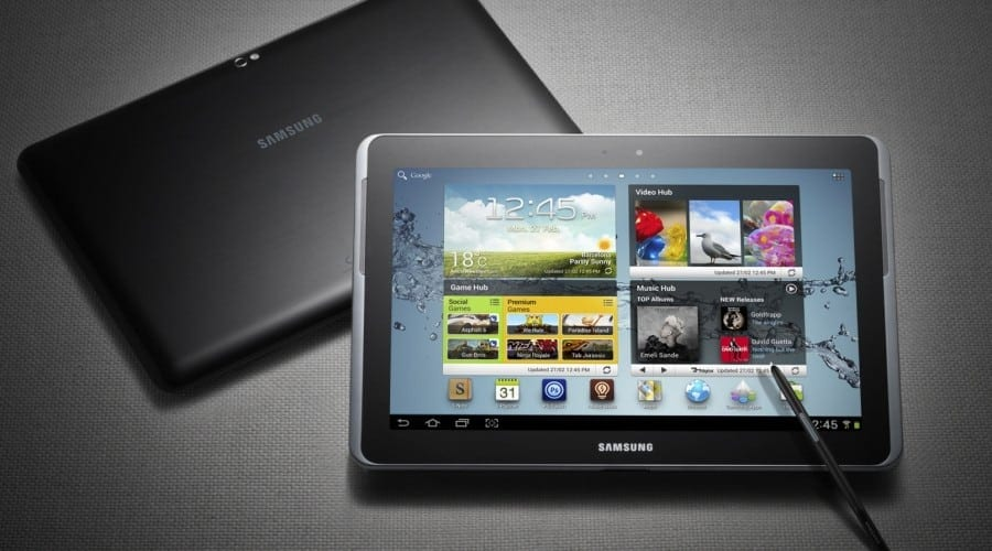 Samsung Galaxy Note 10.1: S Pen pe Ice Cream Sandwich