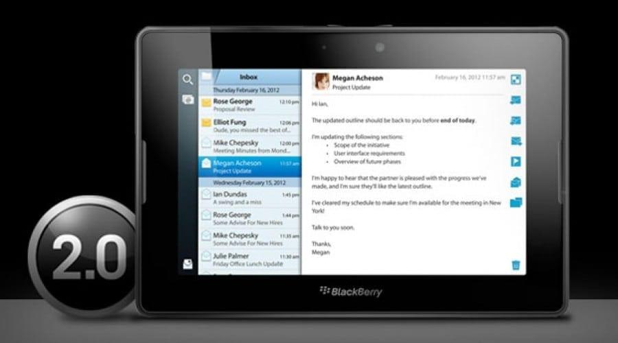 Noul sistem de operare BlackBerry PlayBook 2.0 poate fi descărcat acum