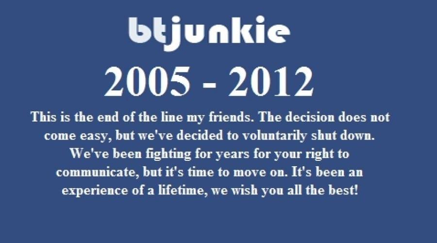 S-a închis celebrul tracker BTJunkie