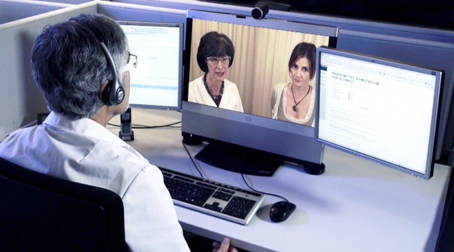 Consultatii medicale prin webcam