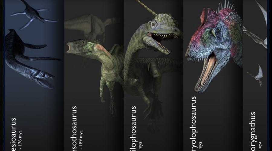 Descoperă lumea dinozaurilor cu Inside the World of Dinosaurs pentru iPad