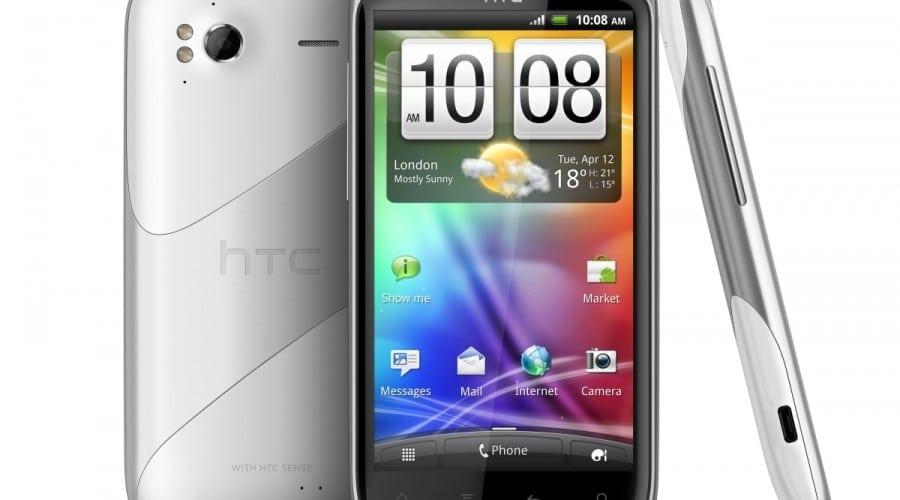 HTC Sensation Ice White înfruntă gerul iernii