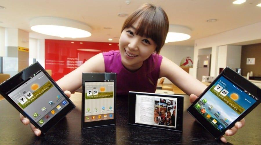LG Optimus Vu, adversarul lui Galaxy Note, anunţat oficial