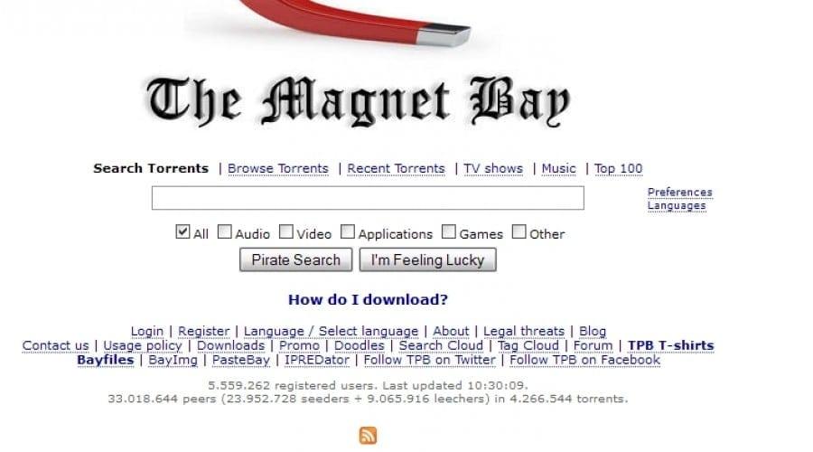 The Pirate Bay elimină fişierele de tip torrent de pe site şi îşi schimbă denumirea