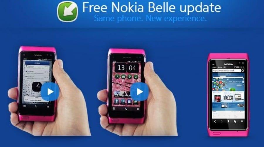 Nokia Belle soseşte pe telefoanele cu Symbian 3