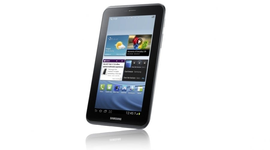 Samsung anunţă Galaxy Tab 2 cu Ice Cream Sandwich