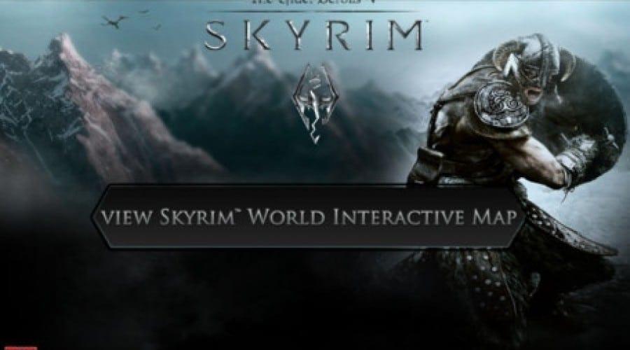 Skyrim pe iPhone: Aplicaţia oficială îţi dezvăluie harta completă a jocului