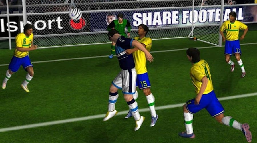 Real Football 2012, acum pe Android