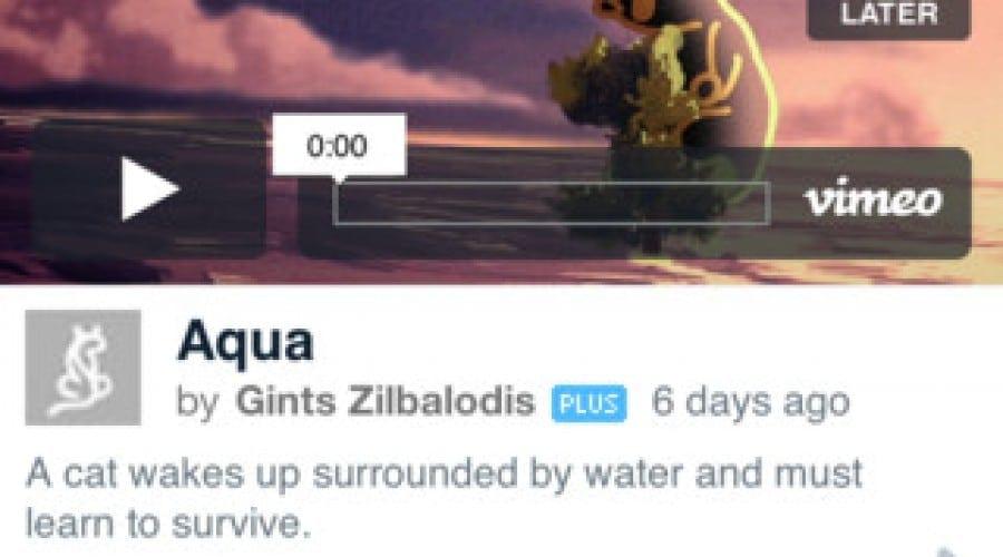 Vimeo soseşte pe iPhone şi iPad într-o versiune îmbunătăţită