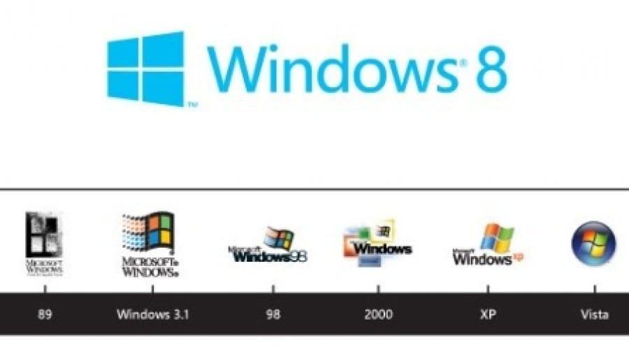 Microsoft prezintă logo-ul oficial Windows 8