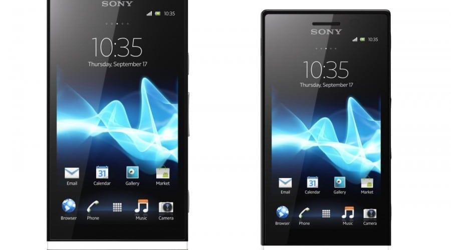 Sony Xperia P şi Xperia U: Design inedit cu elemente transparente, dock multifuncţional