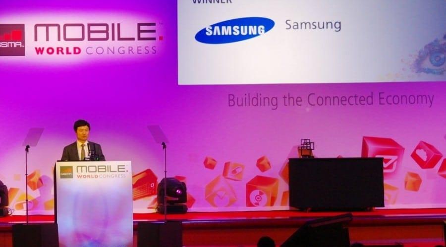 "Samsung a fost premiată cu distincţia de ""Device Manufacturer of The Year"" la MWC"