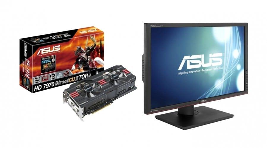 Asus debutează noi soluţii hardware la CeBIT: Monitor, Blu-ray player, plăci grafice şi multe altele