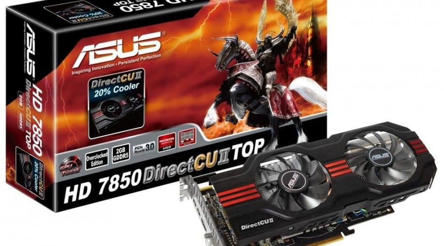 ASUS HD 7870 TOP și HD 7850 TOP au ajuns în România