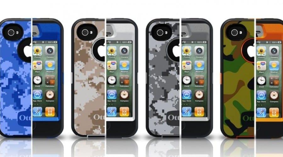 iPhone 4S în haine militare