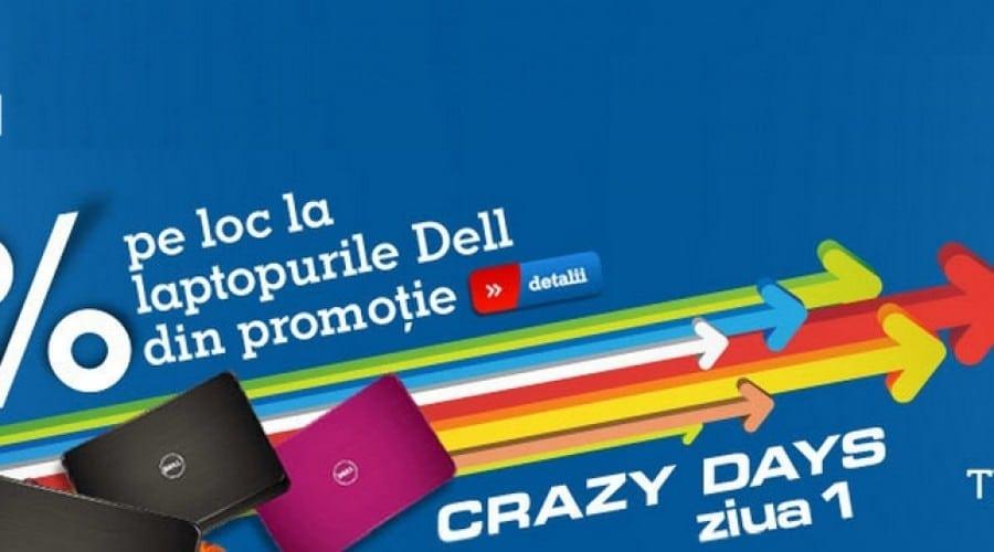 eMAG Crazy Days: Laptop Dell cu i3 și placă video dedicată, la 1735 lei