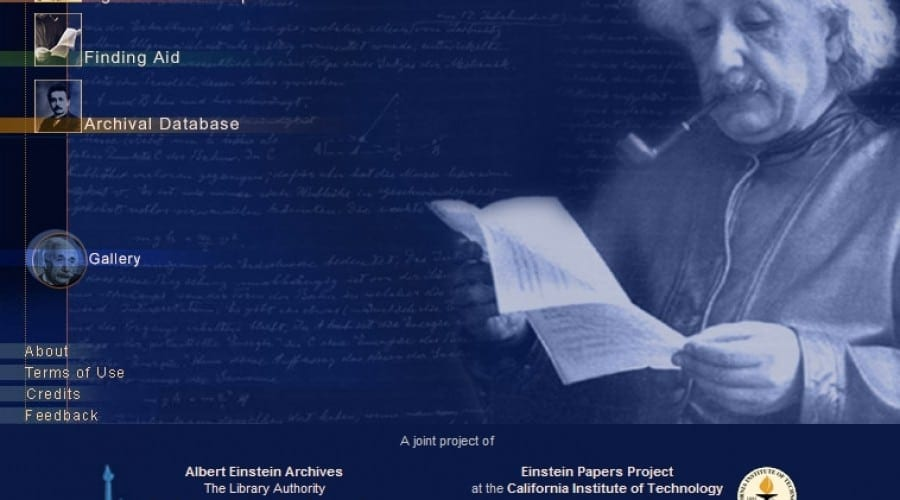 Textele lui Albert Einstein vor fi publicate pe internet