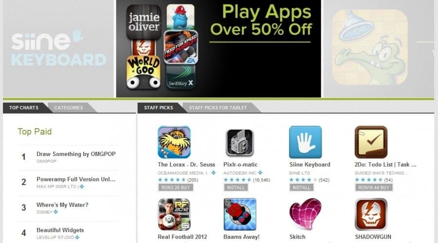 Google spune adio magazinului Android Market, debutează Google Play