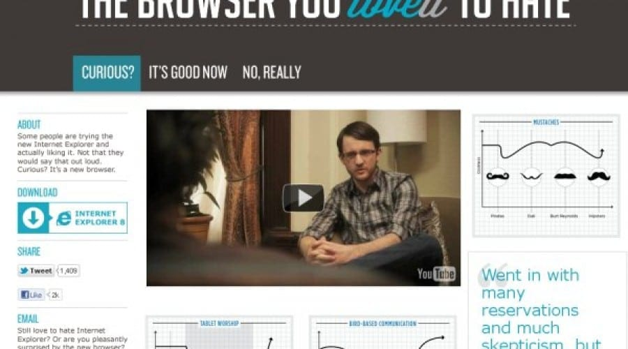 Internet Explorer, browserul pe care obişnuiai să îl urăşti