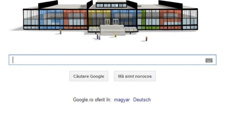 Google Doodle: 126 de ani de la naşterea lui Mies van der Rohe, pionierul arhitecturii moderne