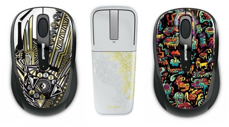 Microsoft lansează noi mouse-uri din seria Limited Edition Artist