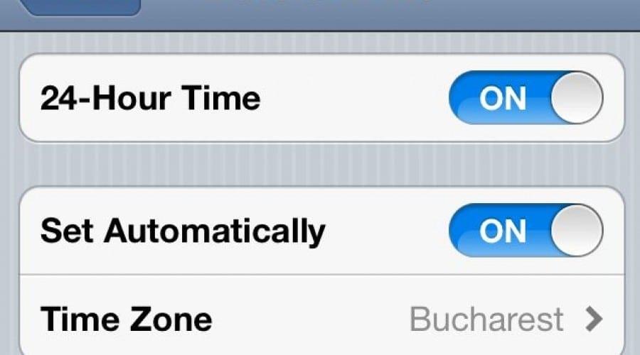 Se schimba ora. Se va schimba ora automat la telefon sau nu?