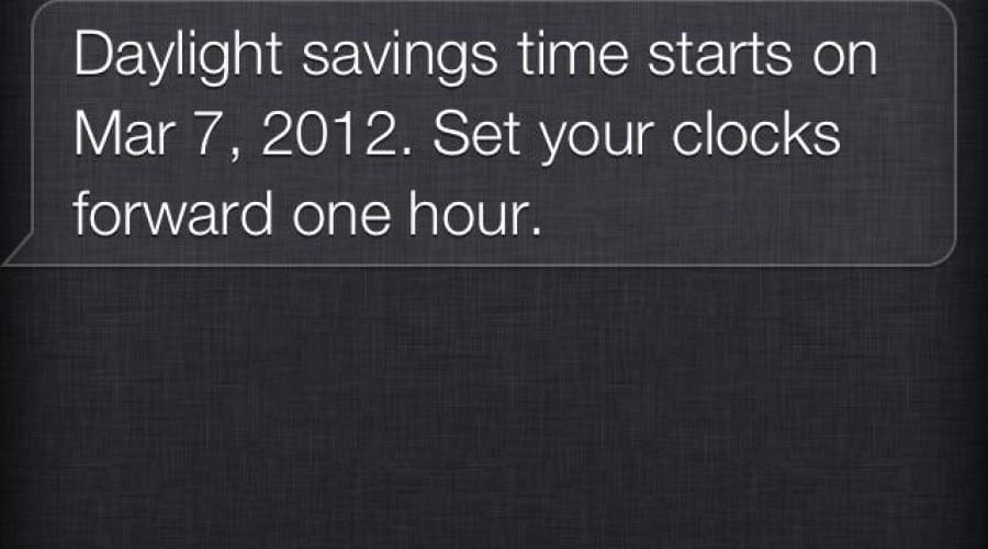 Cand se schimba ora? Se pare ca nici Siri nu stie