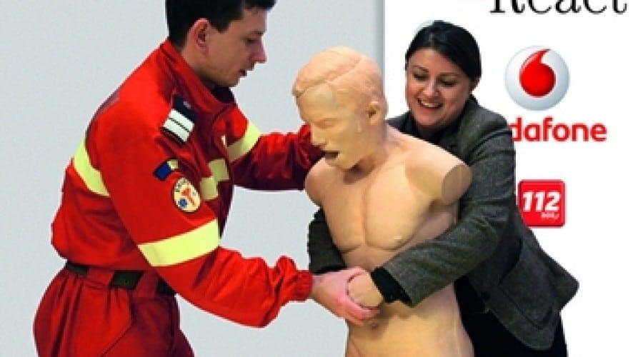 Vodafone şi Asociaţia React: Peste 3.000 de români au participat la cursurile de prim ajutor