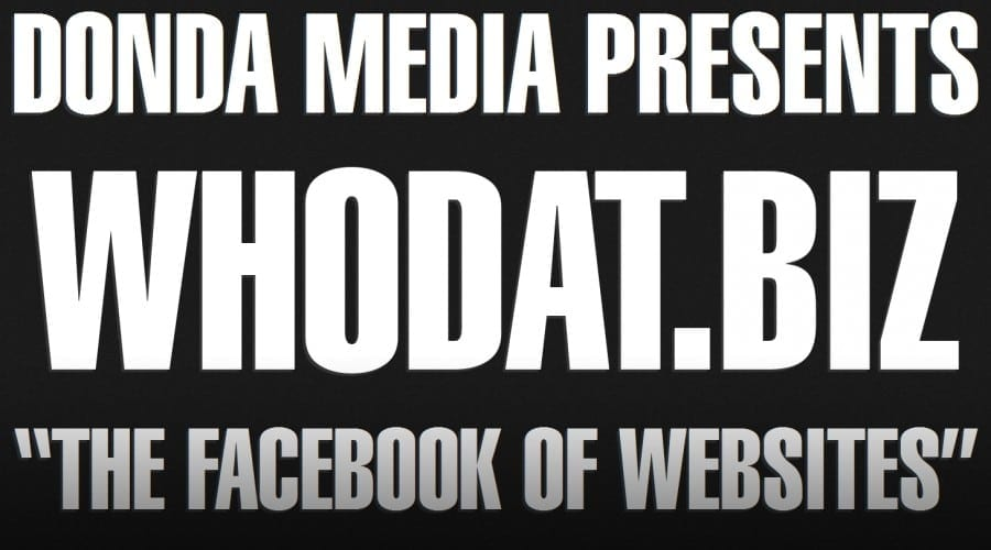 Kanye West lansează site-ul Who Dat?