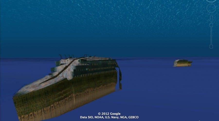 Google îţi oferă un tur virtual al navei Titanic