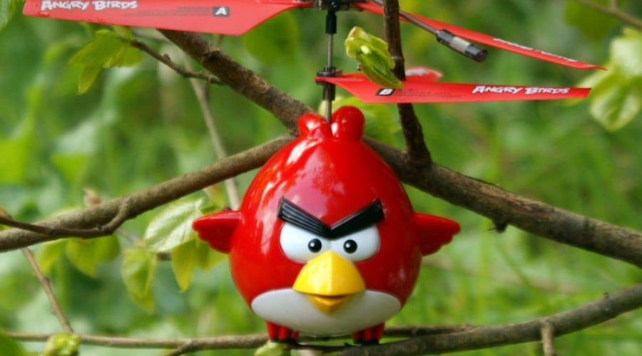 Elicopter Angry Birds de la iHelicopters