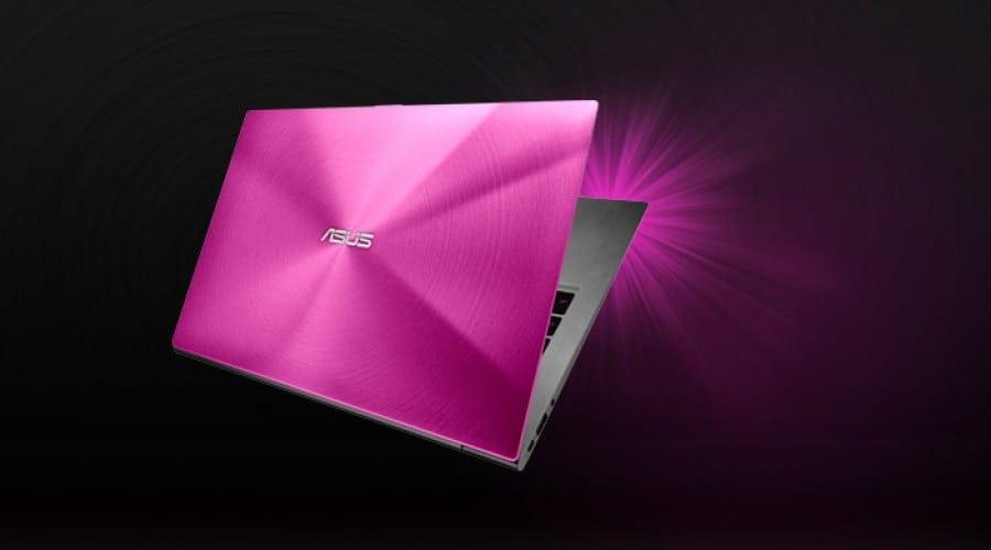Asus Zenbook UX31 şi UX21, în variante Hot Pink şi Rose Gold