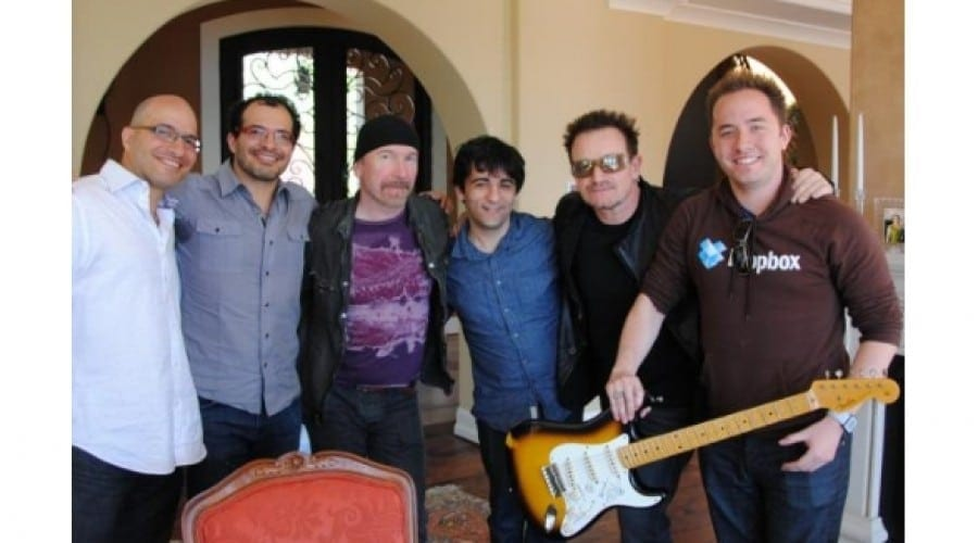 Bono şi Edge de la trupa U2 au investit în Dropbox