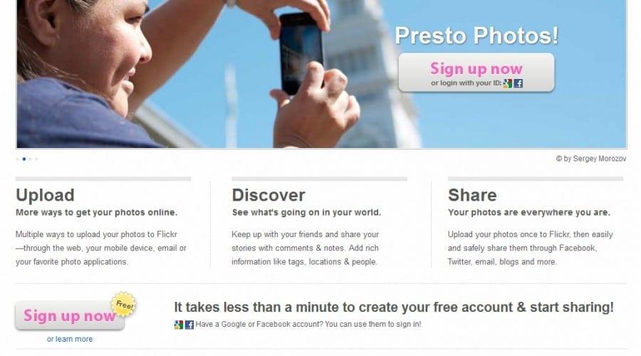Flickr lansează o nouă interfaţă pentru utilizatorii serviciului de Upload