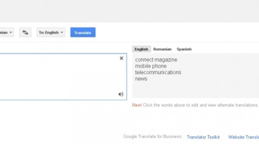 Google Translate: Un milion de cărţi traduse în fiecare zi