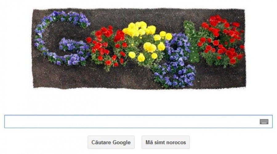 Ziua Pamantului 2012, sarbatorita de Google cu un Doodle floral