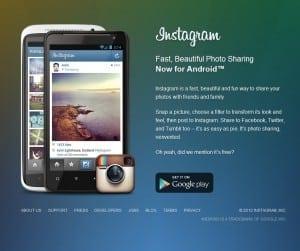 Instagram pentru Android a depăşit pragul de 1 milion de descărcări