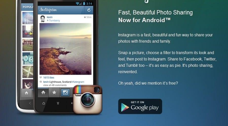 Aplicaţia Instagram e disponibilă acum pe terminalele cu sistemul de operare Android